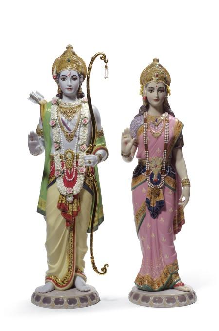Lladro 01001963 Rama & Sita