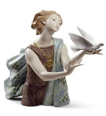 Lladro 08684 ALLEGORY TO THE PEACE (60TH ANNIVERSARY)