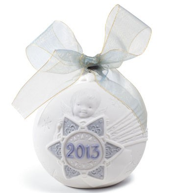 Lladro 18374 2013 CHRISTMAS BALL