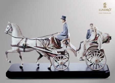 lladro bridal carriage