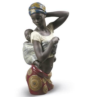 Lladro 09159 AFRICAN BOND