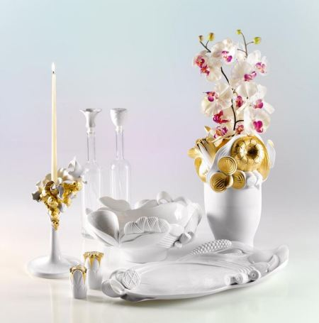 Lladro fantasy for the dinner table