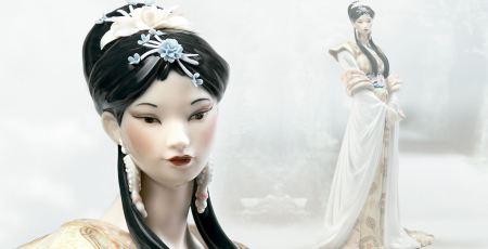 Lladro CHINESE BEAUTY
