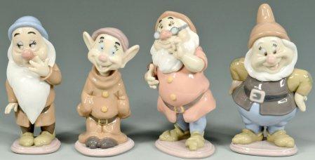 4 Disney Dwarfs