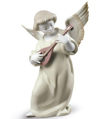 Lladro 09185 HEAVENLY STRINGS
