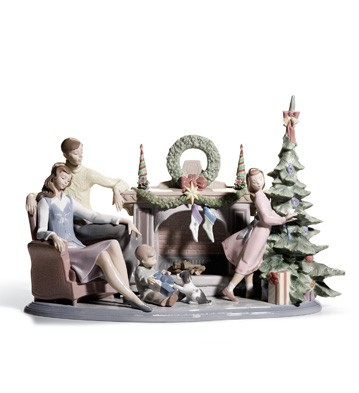 Lladro A FAMILY CHRISTMAS
