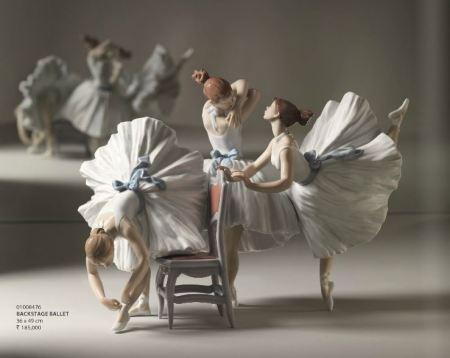 Lladro Backstage Ballet