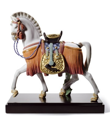Lladro THE WHITE HORSE OF HOPE