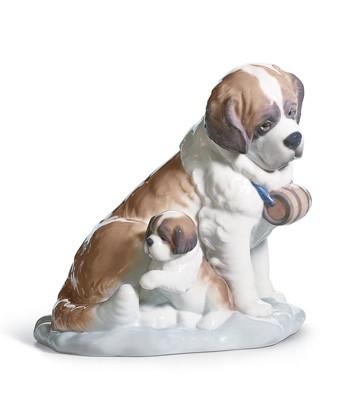 Lladro BABY-SITTING