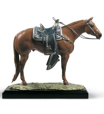 lladro-quarter-horse