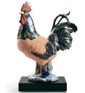 lladro-the-rooster