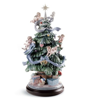 lladro-great-christmas-tree
