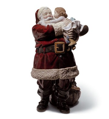 lladro-santa-ive-been-good