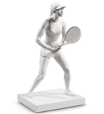 Lladro LADY TENNIS PLAYER