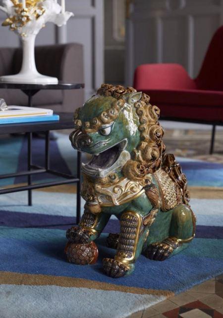 Lladro 01987 ORIENTAL LION