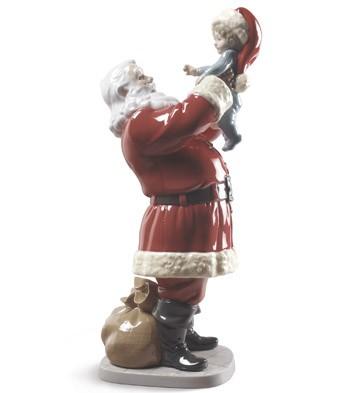 Lladro MERRY CHRISTMAS SANTA