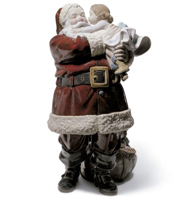 Lladro SANTA I'VE BEEN GOOD
